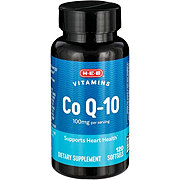 H-E-B Co Q-10 100 mg Softgels