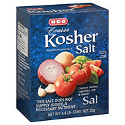 H-E-B Coarse Kosher Salt