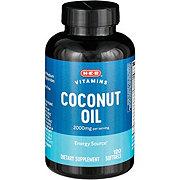 H-E-B Coconut Oil 1000 mg Softgels