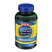 H-E-B Coconut Oil and Flax Seed Omega 3-6-9 Softgels