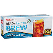 H-E-B Cold Brewed Ready To Brew Family Size Tea Bags