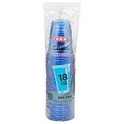 H-E-B Colored 18 oz Plastic Cups