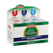 H-E-B Complete Multi Vitamin Adult