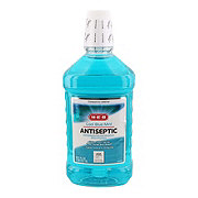 H-E-B Cool Blue Mint Antiseptic Mouthwash