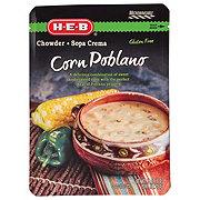 H-E-B Corn Poblano Chowder