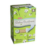 H-E-B Cotton Pantiliners Light