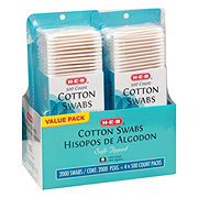 H-E-B Cotton Swabs Club 4 Pack