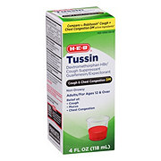 H-E-B Cough and Chest Congestion DM Tussin