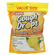 H-E-B Cough Drops Honey Lemon