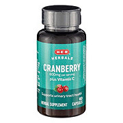 H-E-B Cranberry 500MG Tablets