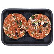 H-E-B Cranberry Gorgonzola Wild Salmon Burgers
