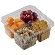 H-E-B Cranberry Pecan Turkey Salad Snack Tray