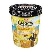 H-E-B Creamy Creations Lemon Cookie Ice Cream