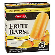 H-E-B Creamy Creations Mango Fruit Bars