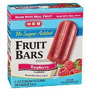 H-E-B Creamy Creations No Sugar Added Raspberry Fruit Bars