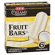 H-E-B Creamy Creations Pina Colada Fruit Bars