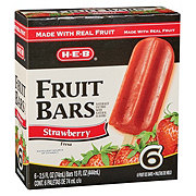 H-E-B Creamy Creations Strawberry Fruit Bars