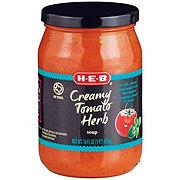H-E-B Creamy Tomato Herb Soup