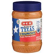 H-E-B Crunchy Peanut Butter
