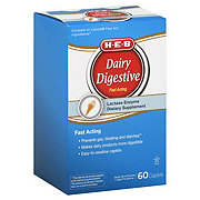 H-E-B Dairy Digestive Fast Acting Caplets