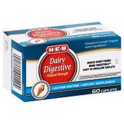 H-E-B Dairy Digestive Original Strength Caplets