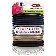 H-E-B Damage Free Hair Elastics Assorted Colors