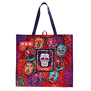 H-E-B Day Of The Dead Loteria Extra Large Reusable Bag