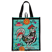 H-E-B Day Of The Dead Small Rooster Reusable Bag