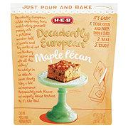 H-E-B Decadently European Maple Pecan Cake Mix