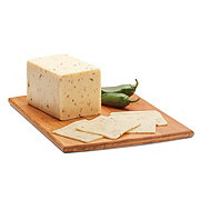 H-E-B Deli Jalapeno Jack Cheese, sold by the