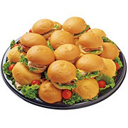 H-E-B Deli Silver Dollar Sandwich Party Tray