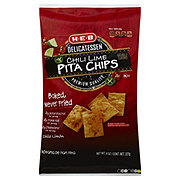 H-E-B Delicatessen Chili Lime Pita Chips