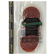 H-E-B Delicatessen Foods Hard Salami Sliced
