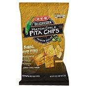 H-E-B Delicatessen Hatch Chile Pita Chips