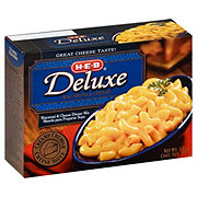 H-E-B Deluxe Macaroni and Cheese Dinner Mix