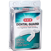 H-E-B Dental Guard For Nighttime Teeth Grinding with Mirrored Case