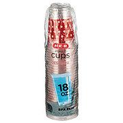 H-E-B Designer 18 oz Plastic Cups