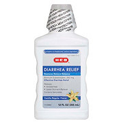 H-E-B Diarrhea Relief Vanilla Regular Flavor Liquid