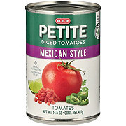 H-E-B Diced Mexican Style Tomatoes