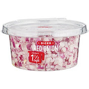 H-E-B Diced Red Onions