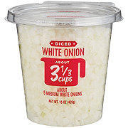 H-E-B Diced White Onions
