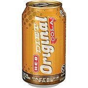 H-E-B Diet Caffeine Free Original Cola