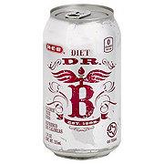 H-E-B Diet Dr. B Soda
