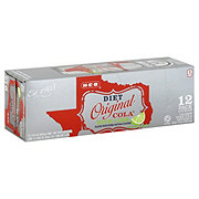 H-E-B Diet Original Cola with Lime 12 oz Cans