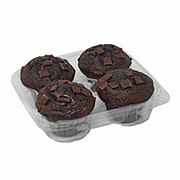 H-E-B Double Chocolate Muffins