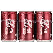 H-E-B Dr. B Soda 7.5 oz Cans