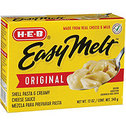 H-E-B Easy Melt Original Shells and Cheese