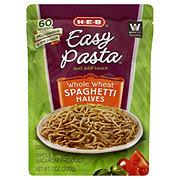 H-E-B Easy Pasta Whole Wheat Spaghetti Halves