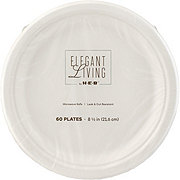 H-E-B Elegant Living Plate, 8.5 inch