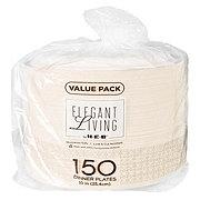 H-E-B Elegant Living Plate Value Pack, 10 inch